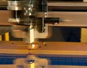 Precision Cutting/Scribing on Thin Flat Glass Substrates