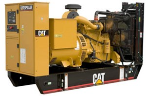 Power Generation - Diesel Generator Set 225-300kW Powered by the Cat C9