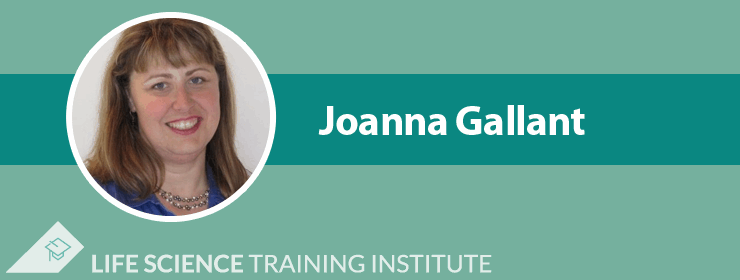Joanna Gallant Pharmaceutical GXP Training Instructor