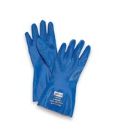 Liquid Proof, Nitrile Supported  Glove for Multiple Solvent Handling Applications