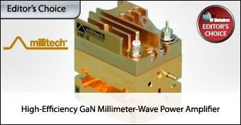 High-Efficiency GaN Millimeter-Wave Power Amplifier