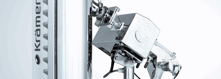 Tablet Deduster with Lock Inspection Metal Detection