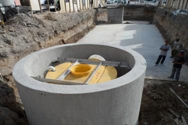 Installation of Hydro Downstream Defender