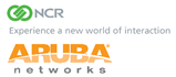 NCR Aruba Combined Logo