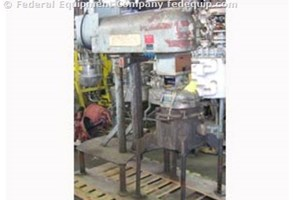 Used Shar Chemical Vacuum Disperser
