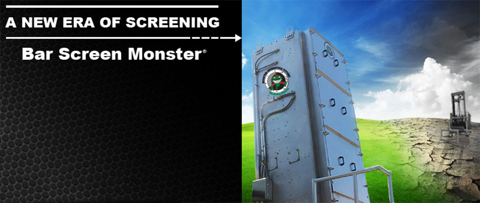 Bar Screen Monster For Headworks, Pump Stations And CSOs