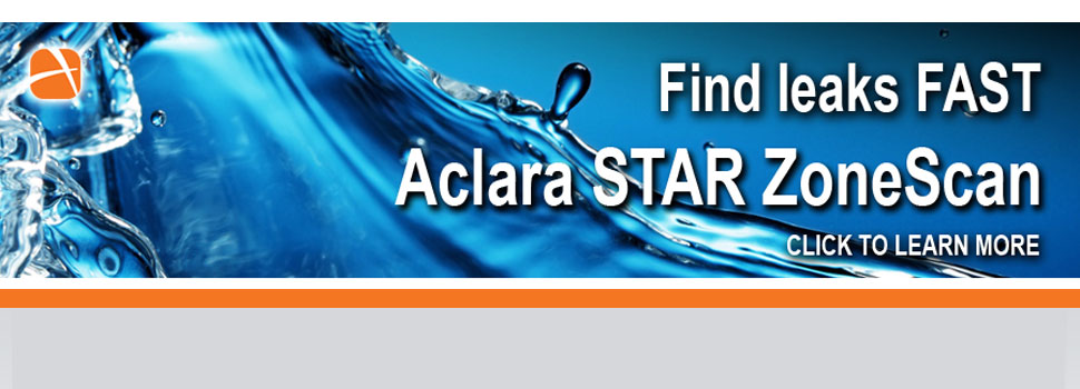 Correlated, Acoustic Leak Detection System: Aclara STAR® ZoneScan