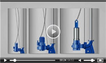 Guide Wire Installation Of Submersible Wastewater Pumps