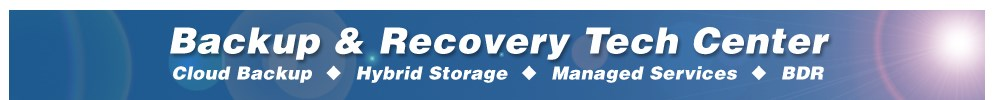 backup and disaster recovery resource center