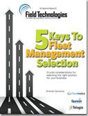 5 Keys To Fleet Management Selection