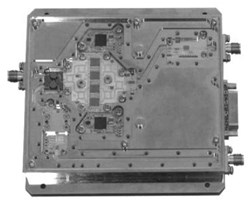 Transmit/Receive Module for X-Band Phased Array Radar