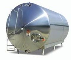 Horizontal Stainless Storage Tanks