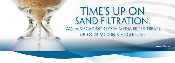Aqua MegaDisk™ Cloth Media Filtration System
