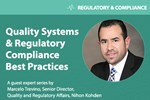 How To Incorporate Risk Management In Medtech Supplier Quality Management, Part 1