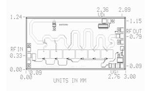 MMA-022030B Broadband MMIC Power Amplifier