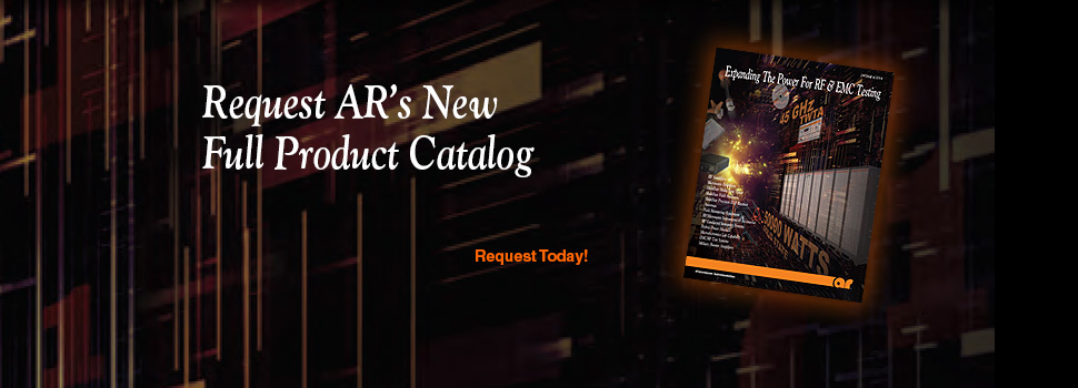 AR Catalog For RF & EMC Testing