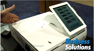 New Tablet Holder And Cash Drawer Featured By APG Cash Drawer At RetailNOW 2014