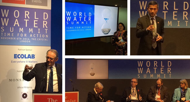 2014 World Water Summit: Time For Action On The Global Water Agenda