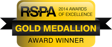 BSM RSPA Gold Medallion
