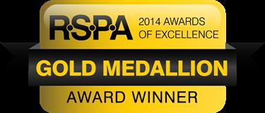 BSM RSPA Gold Medallion