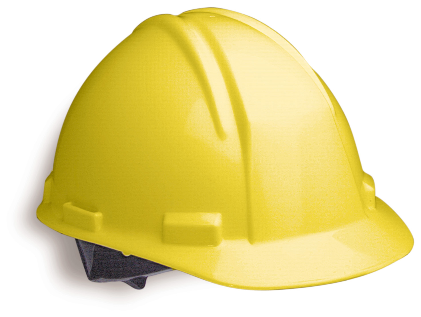 hard hats Each affected employee shall wear protective helmets when working in areas  where there is a potential for injury to the head from falling objects protective.