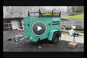 Sound Attenuated Portable Bypass Trailer