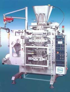 PACK EXPO 2000: Four-Sided Pouch Sachet Machine