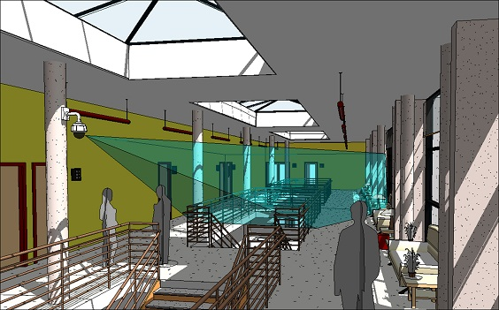 Axis introduces interactive 3d camera visualization for Security camera placement software
