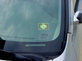 Windshield Tag For LR-911