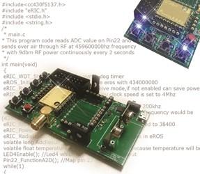 105-PR- LPRS eRIC programmable Wireless SoC