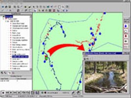 Multimedia Mapping Software