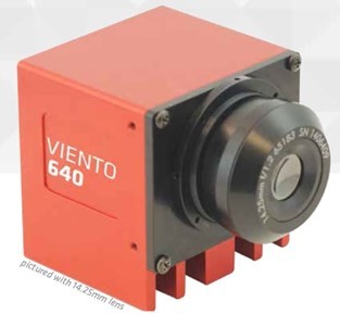 Affordable Camera Link<sup>®</sup>Thermal Imaging: Viento 640