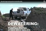 ABS Dewatering - Pumping Water Mixed With Solids Video