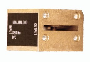 J-Band (12 - 18 GHz) Waveguide Limiter