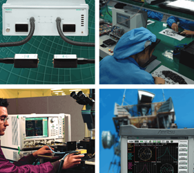 Vector Network Analysis Product Portfolio Brochure
