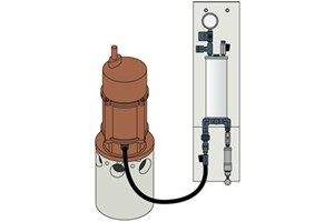 Capital Controls® CHLOR-A-VAC® Series 1520 Chemical Industion Unit