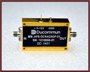 0.03 GHz General Purpose Amplifier: AFB-DCKA25GP-01