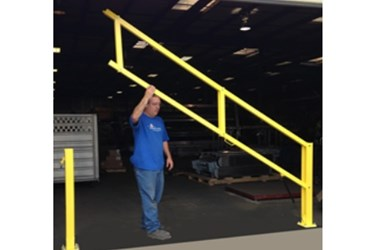 Protect-O-Gate Dock Safety Gate