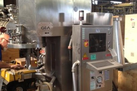 Used 75 Liter GEA Collette High Shear Mixer