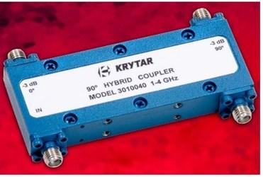 1-4 GHz 90 Degree Hybrid Microwave Coupler: Model 3010040