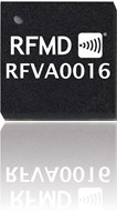 Integrated Analog Controlled Variable Gain Amplifier: RFVA0016
