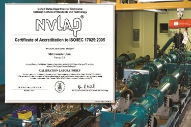 McCrometer-Cal Lab-Accredidation-ISO-17025-NVLAP-ILAC