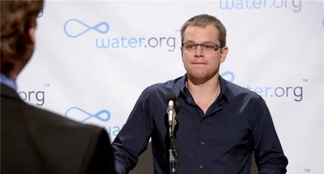 Matt Damon Wants You To 'Buy A Lady A Drink'