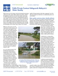 Case Study: Continuous Monitoring Safeguards Malaysia's Water Quality