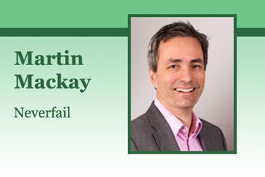 By Martin Mackay, CEO, Neverfail