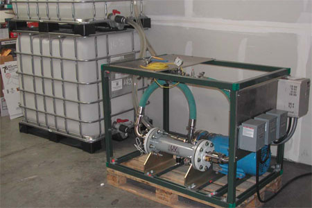 Disinfection Performance Testing Of High-Efficiency Ultraviolet Water Treatment Chamber