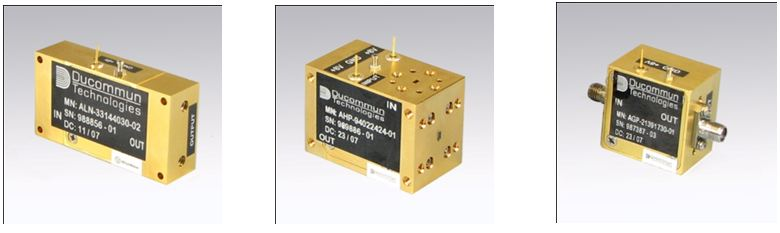 Full Waveguide Band Amplifiers