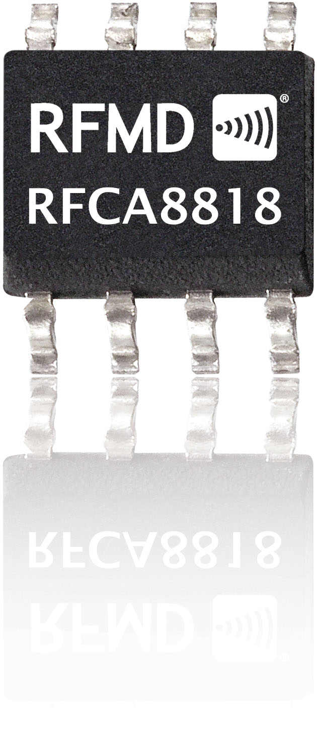 40mhz to 1008mhz high linearity, low noise gaas amplifier rfca8818