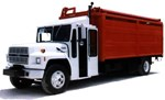 (3) 1991 FORD F800s