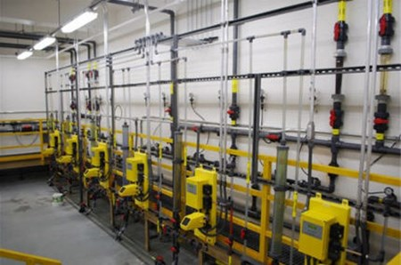 Replacement Of Gas Chlorination System: City Takes Advantage Of Special NaOCl Dosing Unit